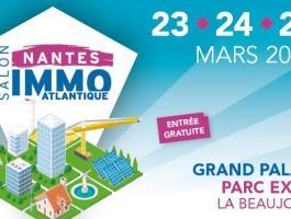 Venez nous rencontrer au salon AtlantiqueImmodu 23 au 25marsGrand Palais Parc Expo de la Beaujoire