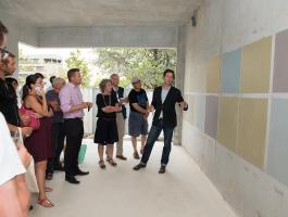 Les futurs habitants de la résidence Villa Cassin découvrent le projet de l'intérieur !