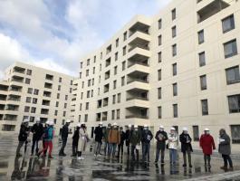 Le janvier 15 dernier a eu lieu la visite de chantier du programme neuf NEVEA