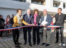 Inauguration de la Résidence les Reflets de Loire